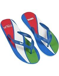Arena  Flip Flop Ita, Chaussures spécial piscine et plage pour femme Bleu Bleu roi