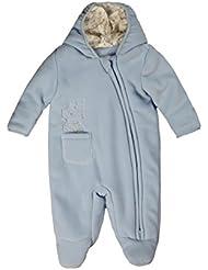 Kanz Unisex Baby Schneeanzug Fleeceoverall m. Kapuze 0003518