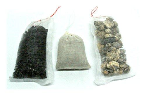Filter Booster Pack für Meerwasser Marine Aquarien–Bio chemischen Phosphat Entferner aktiviert, Carbon