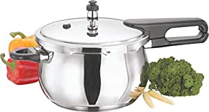 Vinod Cookware Induction Friendly Splendid Plus Stainless Steel Pressure Cooker, 1.5 Litres