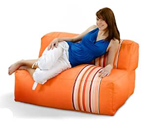 Canapé lounge xXL smothy bean bag coussin 1–2 personnes