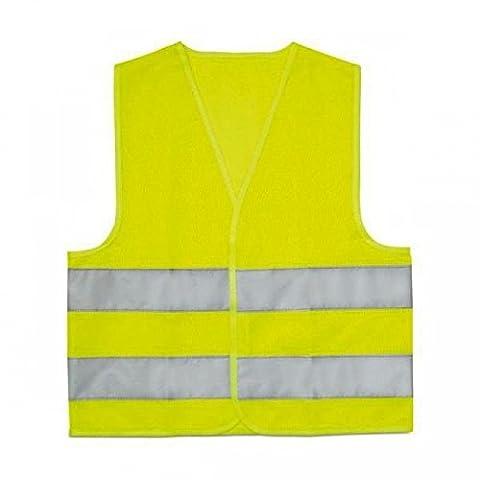 Signalisation Enfants - Gilet fluo jaune de sécurité et de
