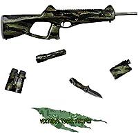 GunSkins - Coperture in vinile per pistole, modello tattico camouflage, foglio da 20 x 127 (Vietnam Tiger Stripe)
