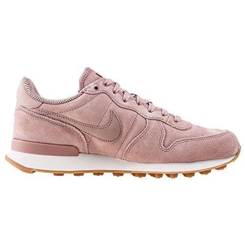 Nike Damen Internationalist SE Pink Leder/Textil Sneaker Pink (Particle Pink/Pale Grey/Gum Light Brown)