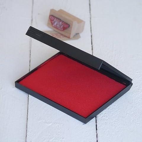 Extra Groß Rot Stempelkissen 140x 110mm