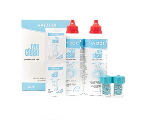 Avizor Ever Clean, 2 x 350 ml Mit Bio-Indikator + Neutralisationstabletten 90 St -