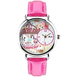 Casual fashion female form/Simple quartz watch/ strap waterproof watch-A