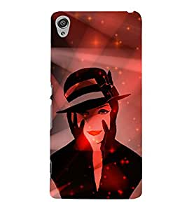 Kill You With My Face 3D Hard Polycarbonate Designer Back Case Cover for Sony Xperia XA :: Sony Xperia XA Dual
