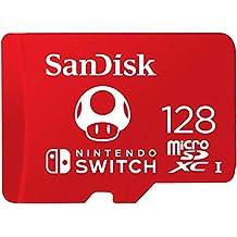 Sandisk Sdsqxao-128G-Gnczn Micro Sdxc Uhs-I, In Licentie Gegeven, Geheugen Kaarten Voor Nintendo Switch, 128Gb