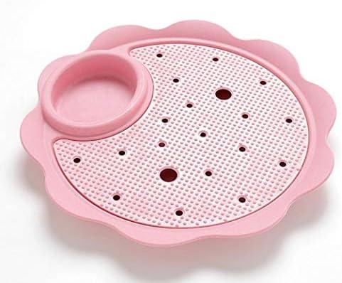 WWUUOOPRT Plat de vidange Plat de Vaisselle Plat de boulettes Plat Vaisselle de Plastique de ménage de Vaisselle créative fd6a6a