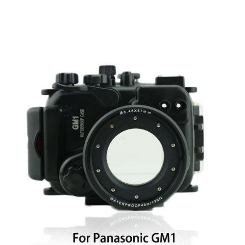CameraPlus- Unterwasser digitalkamera - Unterwassergehäuse für Panasonic LUMIX DMC-GM1 bis 40m Wasserdicht leicht bedienbar PT-EP08