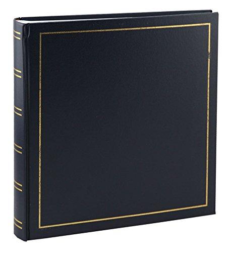Tradition Fotoalbum in 33x35 cm 100 weiße Seiten Buchalbum Jumbo Foto Album: Farbe: Blau