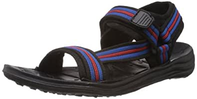 Gliders (From Liberty) Men's Fighter-N Red EVA Sandals & Floaters - 10 UK