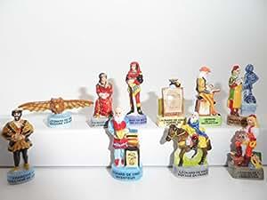 Fève des rois collection La Vie de Leonard De Vinci Rarissime + 1 série complète surprise offerte