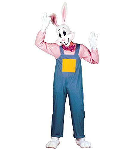Mens Country Rabbit Costume Large UK 42/44 for Animal Jungle Farm Fancy (Kostüm Häschen Kaninchen Ideen)