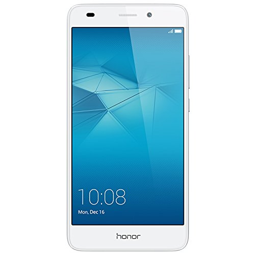 "Honor 5C - Smartphone libre de 5.2"" (Android, cámara 13 MP, 16 GB, Octa-Core 2 GHz, 2 GB RAM), color plateado"