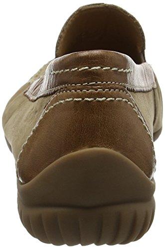 Gabor Damen Comfort Mokassin Beige (corda/copper 43)