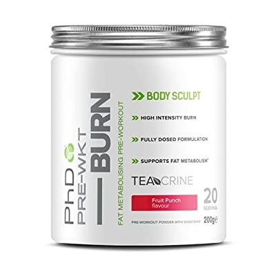 PhD Nutrition Pre-Workout Burn Supplement