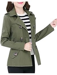 Amazon.co.uk: Trench - Coats / Coats & Jackets: Clothing