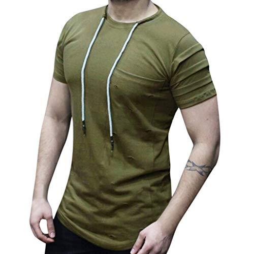 JYC-Blusa Camiseta Camuflaje Mujer,Camiseta De Tirantes Hombre,Abrigo Señora,Capa Roja Disfraz Niña,Chaqueta Cuero Hombre,Verde,M