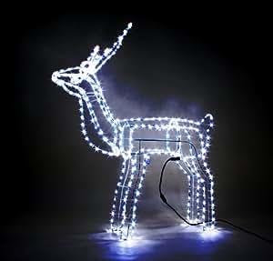 Rentier beleuchtet f r innen und aussen neu led - Weihnachts gartendeko ...