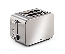 Eveready 750 Watt 2 Slice Pop Up Toaster (PT104)