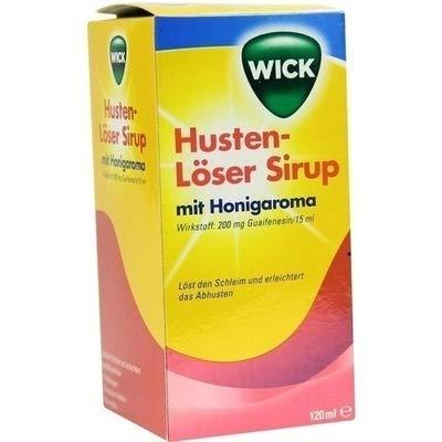 Wick Husten-Löser Sirup mit Honigaroma, 120 ml