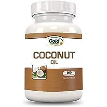 Jarrow Virgen Extra Aceite de Coco 1000 mg (1,000mg, 120 Cápsulas Blandas)