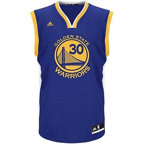 Stephen Curry Golden State Warriors # 30NBA Youth Road Jersey blau, Herren Mädchen damen Kinder Jungen, blau (Basketball-usa-team-jersey)