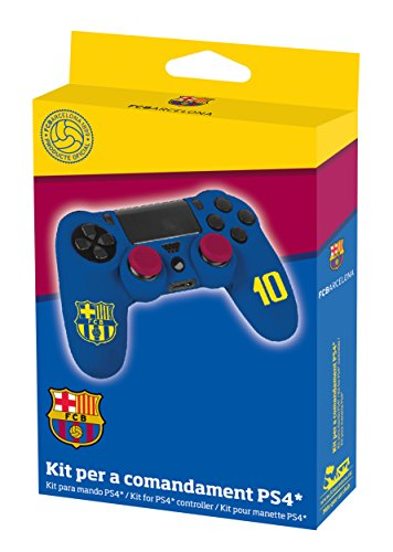 Subsonic kit pour manette PS4 licence officielle FCB - FC barcelone