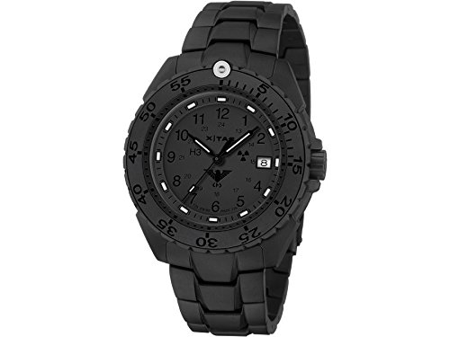 KHS Mens Watch Enforcer Black Titan XTAC KHS.ENFBTXT.TEB