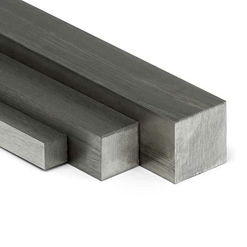 Edelstahl Vierkant VA V2A blank h11-8x8mm   L: 600mm (60cm) auf Zuschnitt
