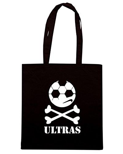 T-Shirtshock - Borsa Shopping TUM0231 ultras hooligans Nero