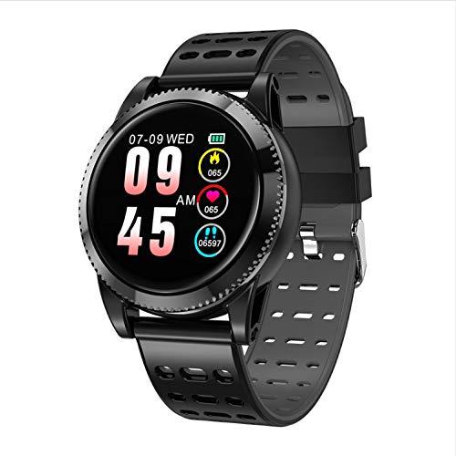 zlywj cardiofrequenzimetro smart watch men women 1.3 schermo a colori rotondo multi-dial music control monitor di frequenza cardiaca smartwatch bracciale sportivo