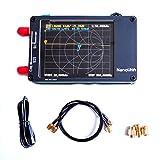 Analizzatore di rete Vector Nanovna HF VHF UHF UV VNA antenna analizzatore 50Khz-900Mhz+2.8'' LCD + batteria, misura S-Parametro tensione stazionaria, rapporto di fase, ritardo, grafico Smith