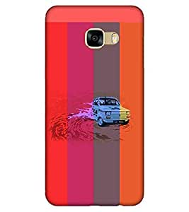 For Samsung Galaxy C9 Pro super car ( ) Printed Designer Back Case Cover By CHAPLOOS