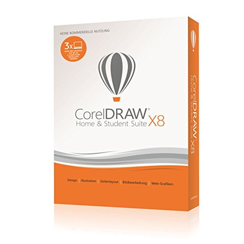 CorelDRAW Home & Student Suite X8 Test