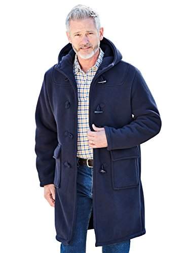 Chums Doublé Pour Hommes Manteau Duffle Bleu UK 42/EU 52