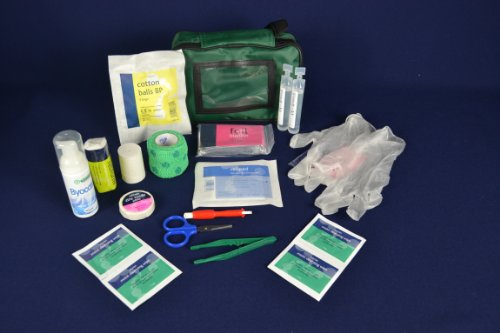 Warwick Whelping Boxes Pet First Aid Kit Comprehensive with paw print bandage CPR guide and Toxic foods leaflets… 3