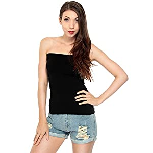 Fashion Line Women's Cotton Tube Top