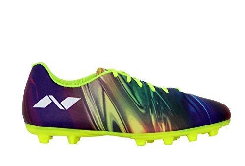 Nivia Atom Football Stud, UK 5 (Multicolor)