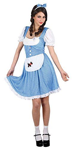 Country Girl Woman Fancy Dress Up to X-Small Size Costume