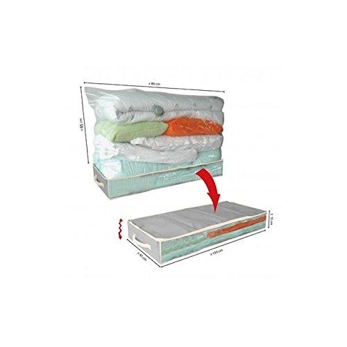 Boite de rangement sous vide ideal pour dessous lit - bagn store