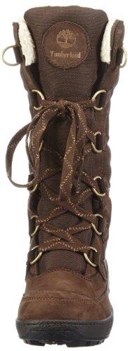 Timberland Mukluk Ftw_Ek Mukluk F/L 12In Boot, Bottes de ski femme Marron - Braun (Dark Brown)
