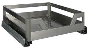 design edelstahl teleskopschublade softeinzug schublade. Black Bedroom Furniture Sets. Home Design Ideas