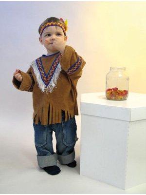 Indianerkost�m 118.013.92 Kleine Feder Gr. 86-92 Kinderkost�m (Nähen Einfache Halloween-kostüme)