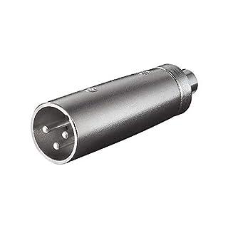 XLR Adapter 3-polig XLR Stecker auf Cinch Kupplung (B000L11C7I) | Amazon Products