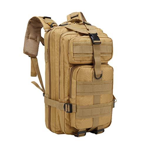 TianBin 30/45L Taktischer Rucksack Damen & Herren Leichter Kleiner Tagesrucksack für Reisen Camping Wandern (Khaki#2, One size)