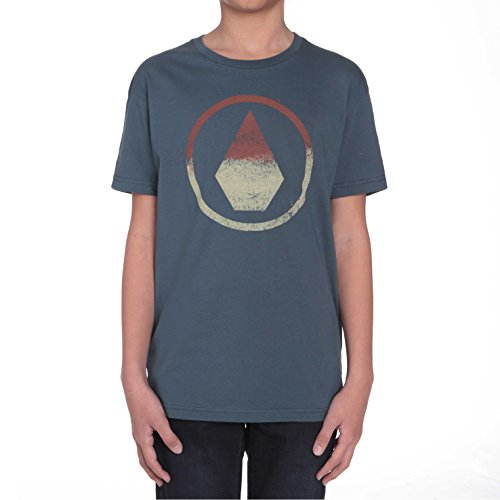 Volcom T-Shirts - Volcom Boys Canvas T-Shirt - Airforce Blue (Air-force-kinder-t-shirt)