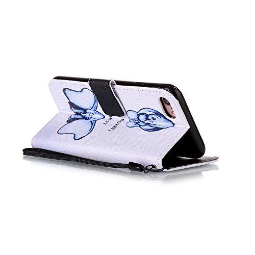 HX-439【Eine Vielzahl von Mustern】iPhone 6 Handyhülle Case für iPhone 6 Hülle im Bookstyle, PU Leder Flip Wallet Case Cover Schutzhülle für Apple iPhone 6(4.7 Zoll) Schale Handyhülle Cover im Bookstyle Farbe-32